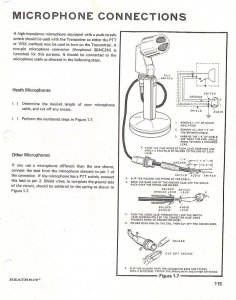female plug insert wiring diagram for the heathkit hw 100 qrz forums 4 Pin Microphone Wiring Diagrams 4 Pin Microphone Wiring Diagrams