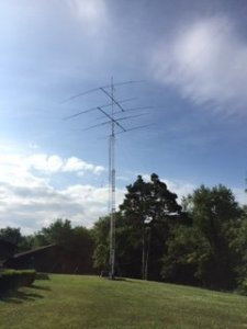 For Sale - 2 EZ way crank up tilt over towers with antennas