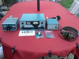 Heathkit hw-101 hw ham amateur radio transceiver tube vintage rig.