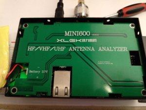 MINI600 Antenna analyzer 0 1-600mhz | QRZ Forums