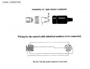 wiring pins for g 450a yaesu rotor qrz forums rh forums qrz com