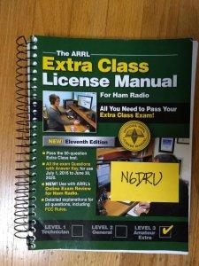 SOLD - ARRL Amateur Extra License Manual   QRZ Forums
