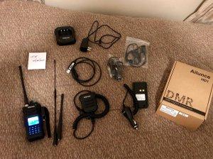 SOLD - 2x: Retevis Ailunce HD1 w/GPS + Accessories | QRZ Forums