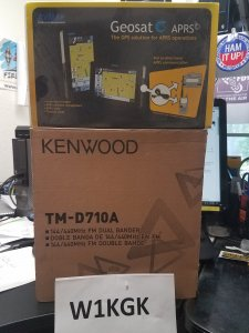 For Sale - Kenwood Dual Band TM-D710A with AvMap Geo 6 | QRZ Forums