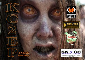 KC2EP qsl card frontHALLOWEEN copy.jpg