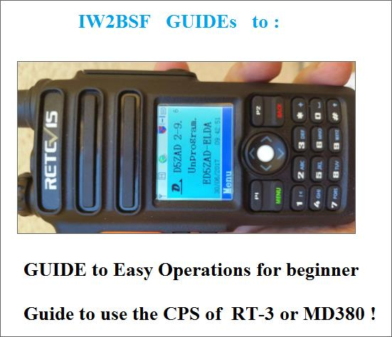Easy Instructions to use the NEW Retevis Rt-82 & TYT MD-2017 !   QRZ