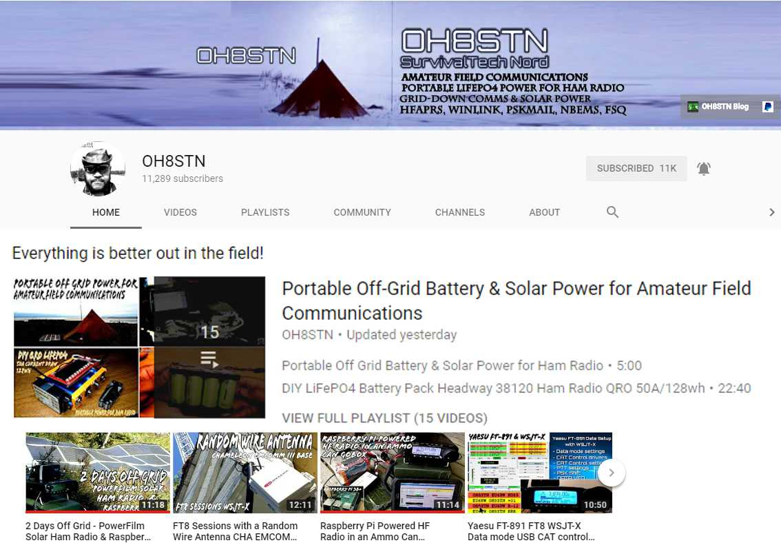2 Days Off Grid with PowerFilm, Ham Radio and a Raspberry Pi
