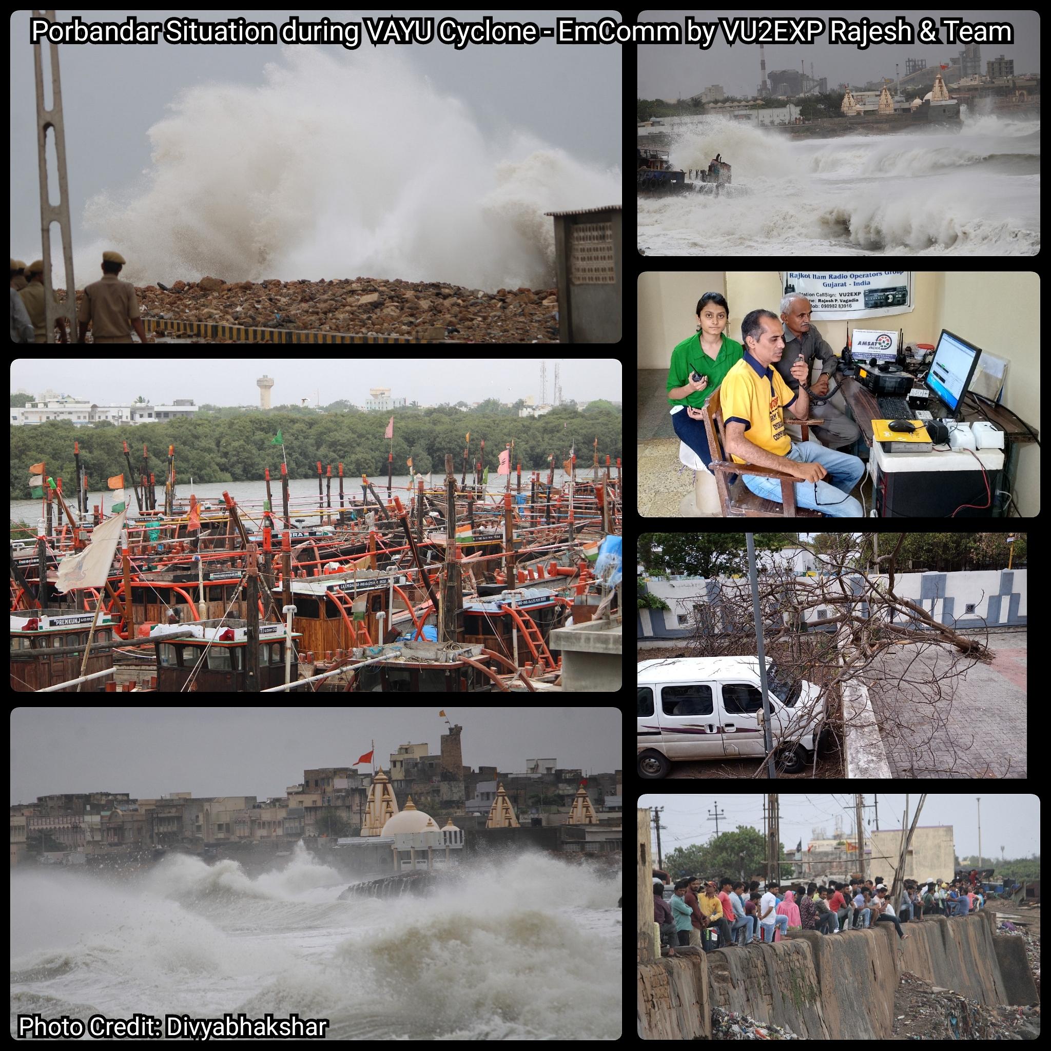 Porbandar Gujarat Situation VAYU Cyclone.jpg
